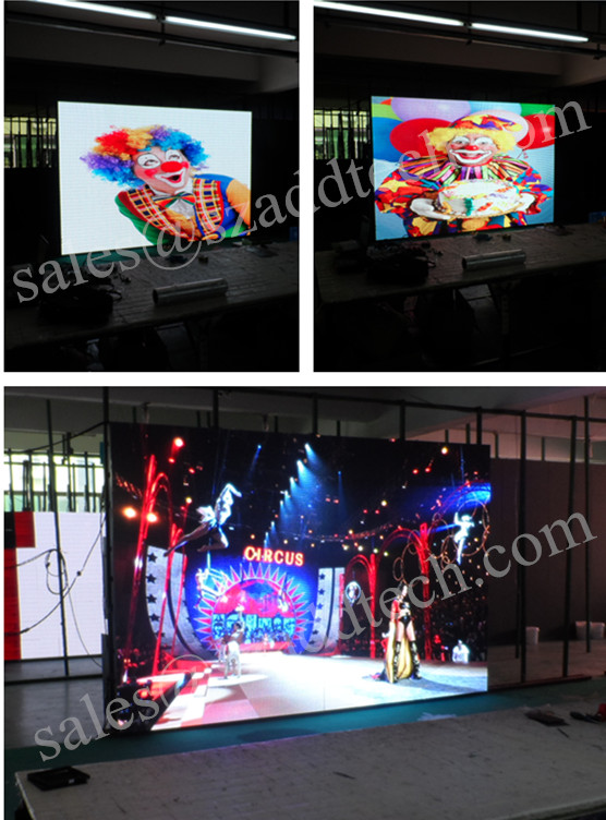 France P7.62mm Indoor SMD Full Color LED Display