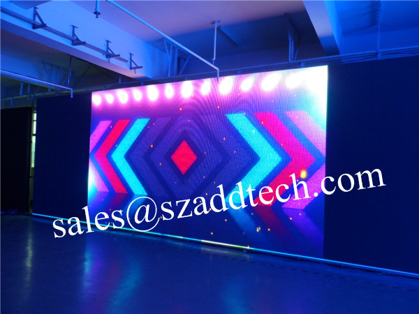 US P6mm Front Serviced Indoor LED Sign