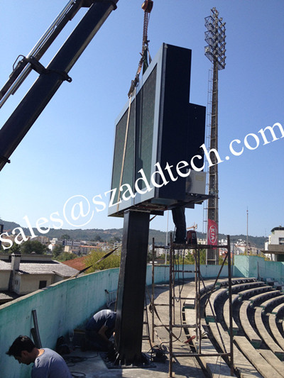 Portugal Stadium P10mm Outdoor LED Screen