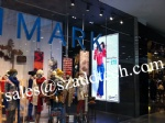 Germany P6mm Indoor LED Screen, Installed in the Cloth Shop
