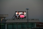 Building Top Mounted LED Advertising Display Board