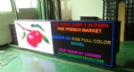 P4mm French Indoor SMD Full Color LED Banner